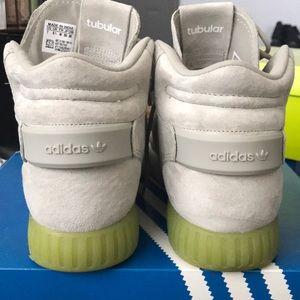 premium selection e0f0a 14736 adidas Shoes - Adidas Tubular Invader Strap J